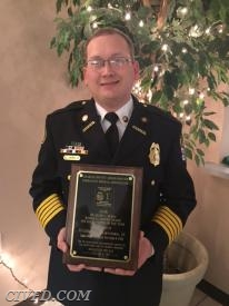 Chief Lawman receives Dr. Henry L. Burke Memorial Award