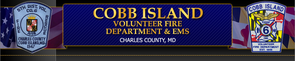 Cobb Island Volunteer Fire Department & EMS